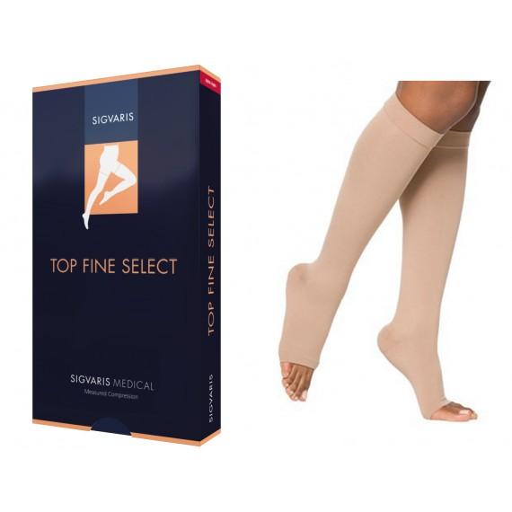 Elastic Top Fine Select Knee-high Stockings