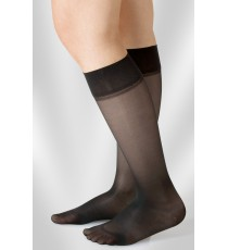 Juzo Light Line Knee-length sock (opaque mesh)