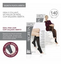 Ibici 140den Sock Knee-length Open (Honeycomb mesh)