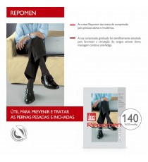Mens Repomen Socks 140den Knee-high