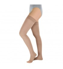 Soft Elastic Stockings Up to the Thigh (opaque)