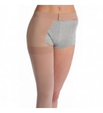 Soft Elastic Stockings Up To Thigh With Belt (unit)