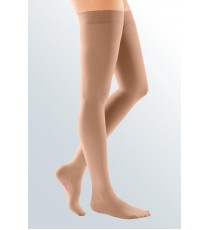 Comfort Elastic Stockings Up to the Thigh (Opaque mesh)
