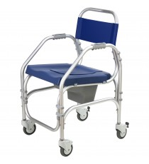 Pacific Sanitary and Bath Chair with Wheels
