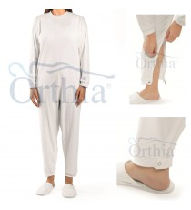Geriatric Pajamas For Incontinents Long