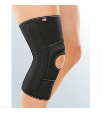 Knee Pad for Correction of the Lateralisation of the Ball Joint