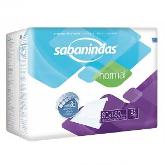 Sabanindas Disposable Cover 80x180
