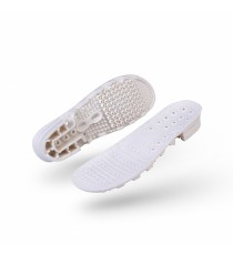 White Wock Clog Insole