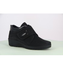 Comfort semi-orthopedic shoes - HELLICA 41 BLACK Semi Orthopedic Semi Orthopedic