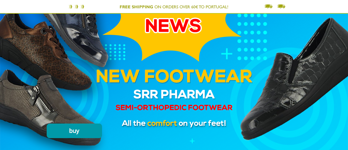 New SRR Pharma Footwear