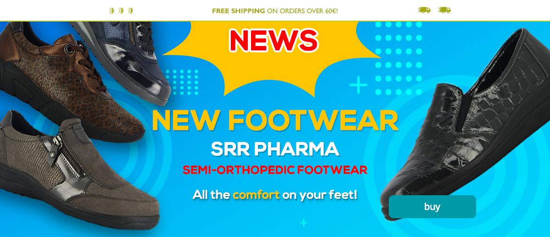 New SRR Pharma Footwear